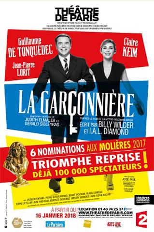 AFFICHE-LA-GARCONNIÈRE-REPRISE TH DE PARIS