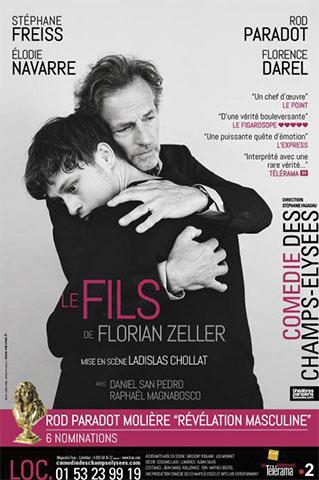 LE FILS – FLORIAN ZELLER - AFFICHE FREISS SITE INTERNET