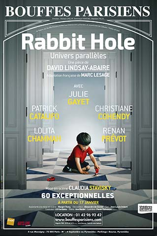 RABBIT HOLE - AFFICHE SITE- BOUFFES PARISIENS DEF