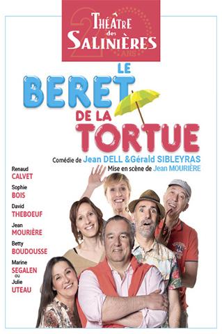 AFFICHE - BÉRET DE LA TORTUE (LE ) - THÉÂTRE LES SALINIÈRES - 14 sept 2018 au 26 octobre 2018